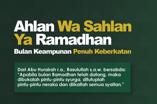 10 Hadis Sahih berkaitan Ramadan